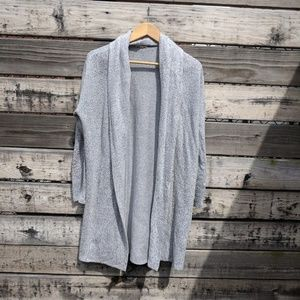 Silence + Noise Long Gray Cardigan Size XS